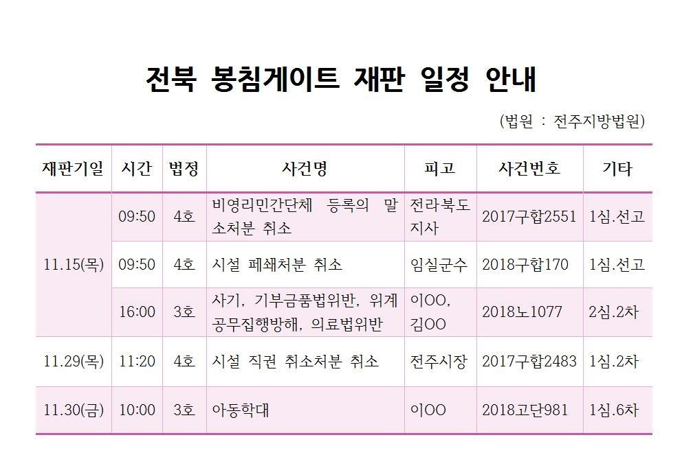 전북 봉침게이트 재판 일정 안내001.jpg