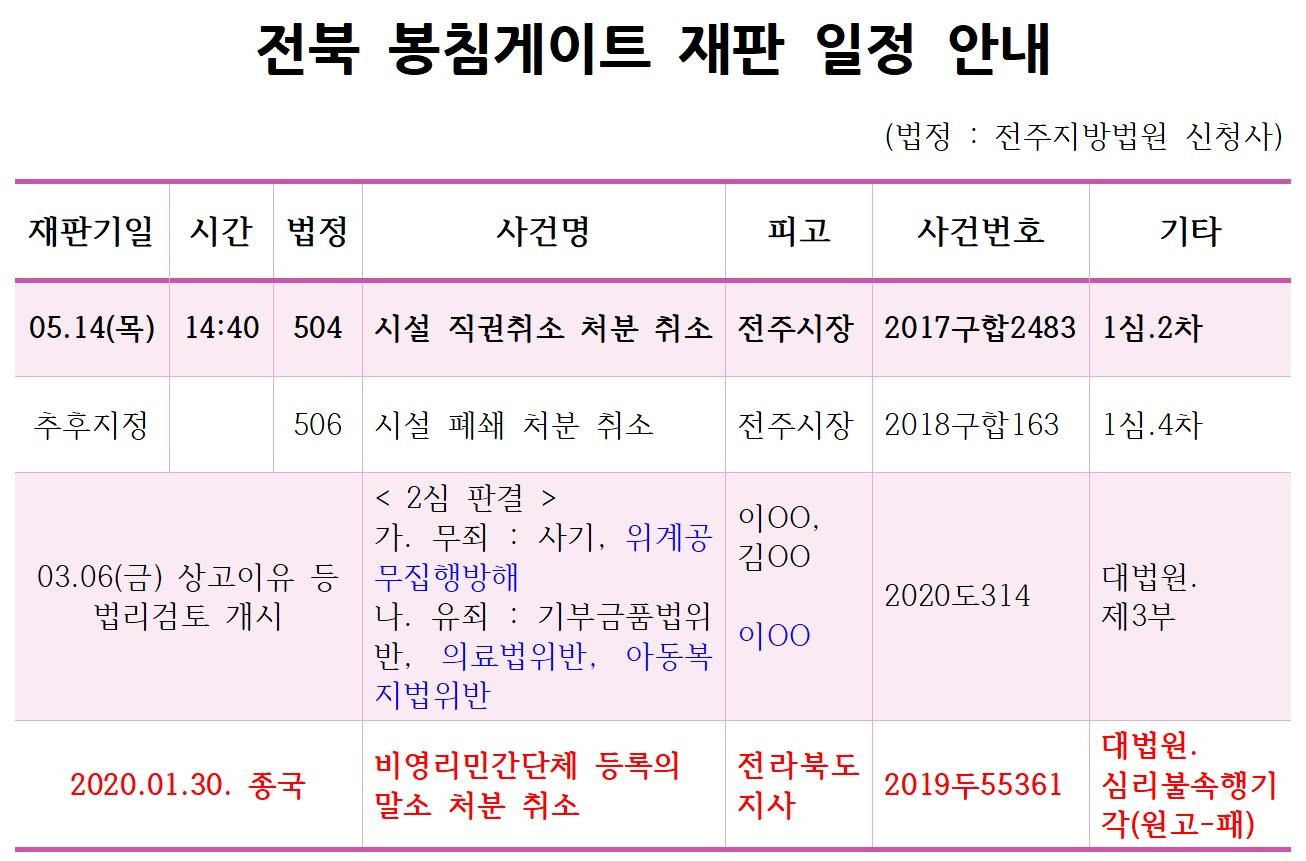 20.5.14_전북 봉침게이트 재판 일정 안내_시설직권취소.jpg