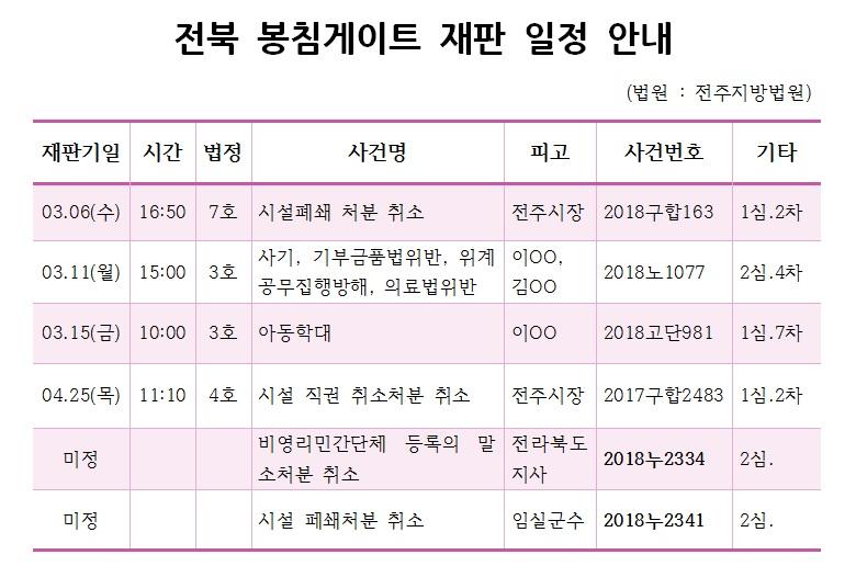 19.3.6 전북 봉침게이트 재판 일정 안내.jpg