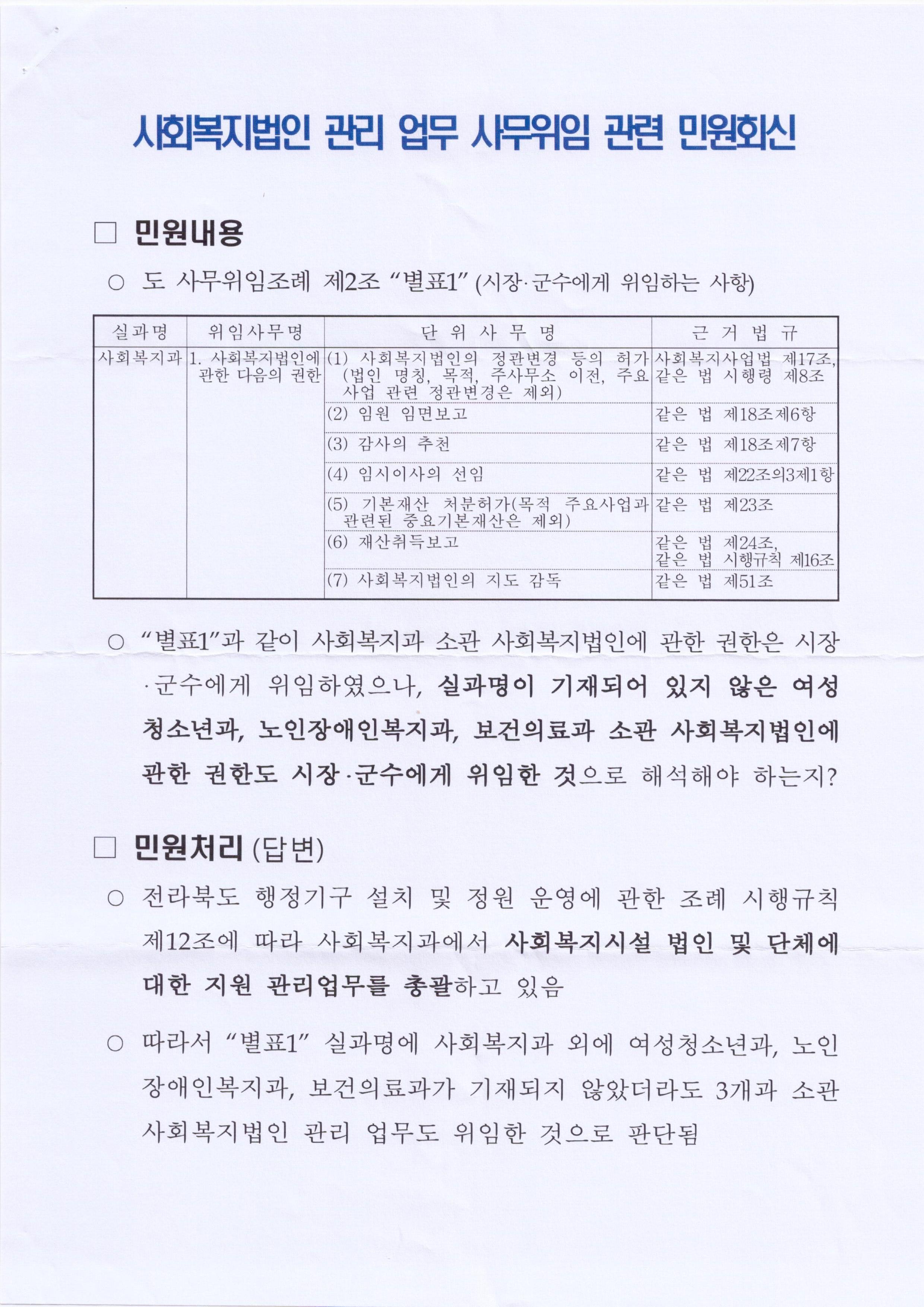 16.9.1_전북도 사회복지과-16576(사회복지법인 사무위임 회신 002.jpg